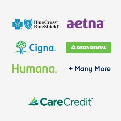 Five dental insurance logos