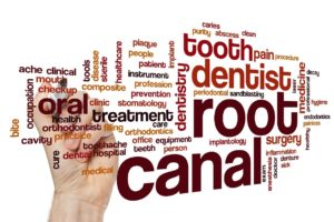 root canal word cloud